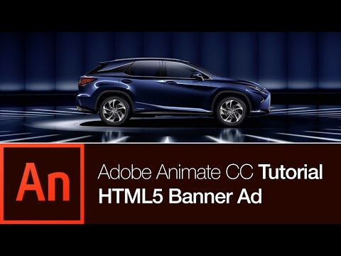 Animate CC Tutorial: Create a Banner Ad