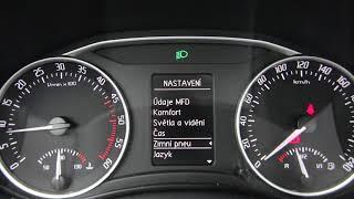 Škoda Octavie 2 Facelift Palubní Počitač (board Computer)