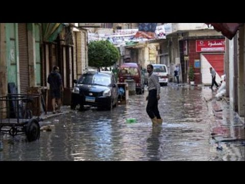 Severe Weather Sweeps Mideast, 6 Dead In Egypt