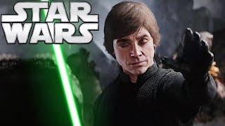 Luke Skywalker Observatory Scene FULL BREAKDOWN - Star Wars Explained