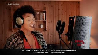 "Measha Brueggergosman performs ""You'll Never Walk Alone"" | Stronger Together | CBC Music"