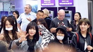 [Fancam] 181209 AKB48 at Suvarnabhumi Airport #WelcomeAKB48ToThailand AKB48 検索動画 46