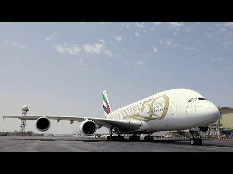The UAE 50 Livery | A380 | Emirates Airline