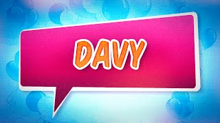 Joyeux anniversaire Davy