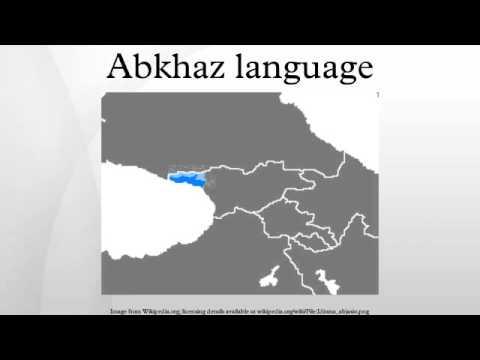 Abkhaz language