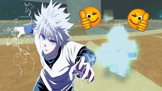 The god of speed Killua! Roblox: Anime Cross 2