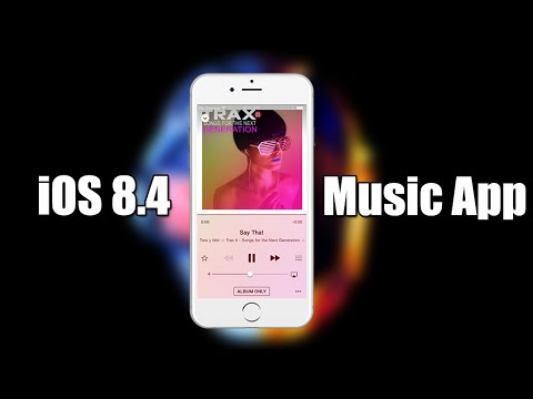 iOS 8.4 Brand New Music App Redesign!