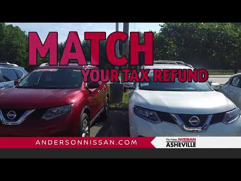 Fred Anderson Nissan of Asheville - Tax Match Used Car Event - YouTube