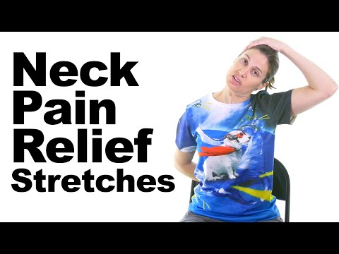 Neck Pain Relief Stretches 5 Minute Real Time Routine
