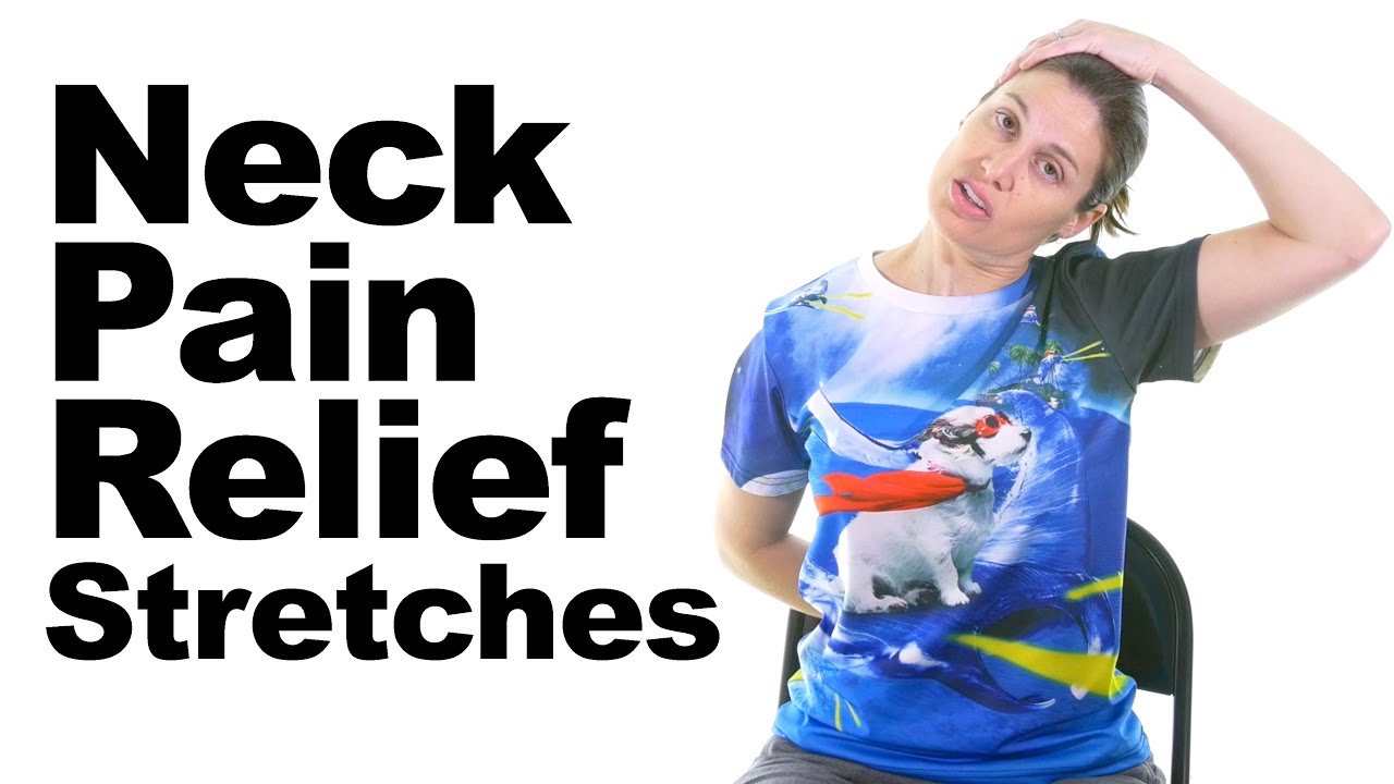 Download Neck Pain Relief Stretches - 5 Minute Real Time Routine