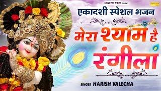 एकादशी स्पेशल भजन : मेरा श्याम है रंगीला Harish Valecha | New Krishan ji bhajan | Sonotek Bhakti