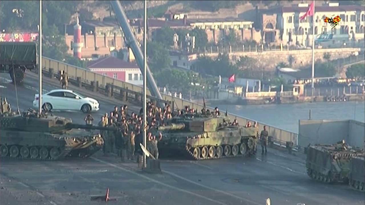 Live militarkupp i turkiet