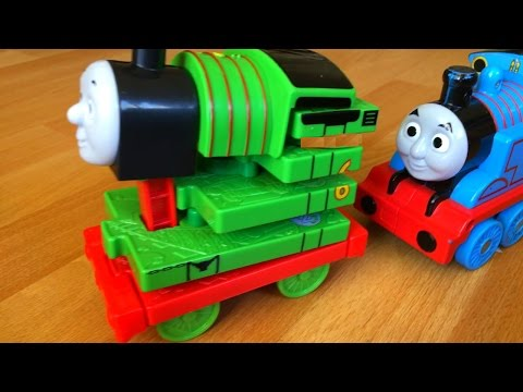 18 Thomas and Friends Toy Train Percy with Some Rare Ones