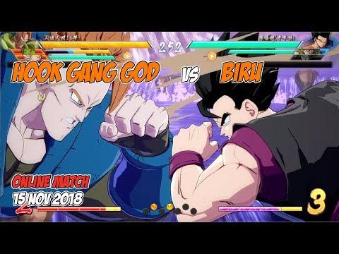 HookGangGod vs Biru | DBFZ Online Match FT2 15 Nov 2018