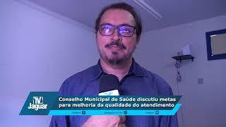 Júnior Ibiapina - Reunião do conselho municipal de saúde na UAB