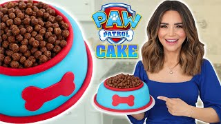 PAW PATROL DOG FOOD CAKE - NERDY NUMMIES
