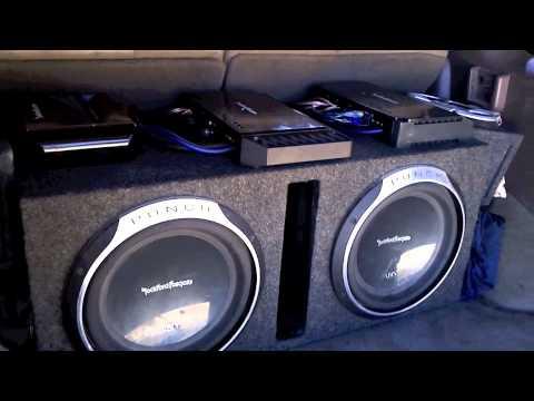 Rockford Fosgate P4004 and Infinity Kappa Component Demo