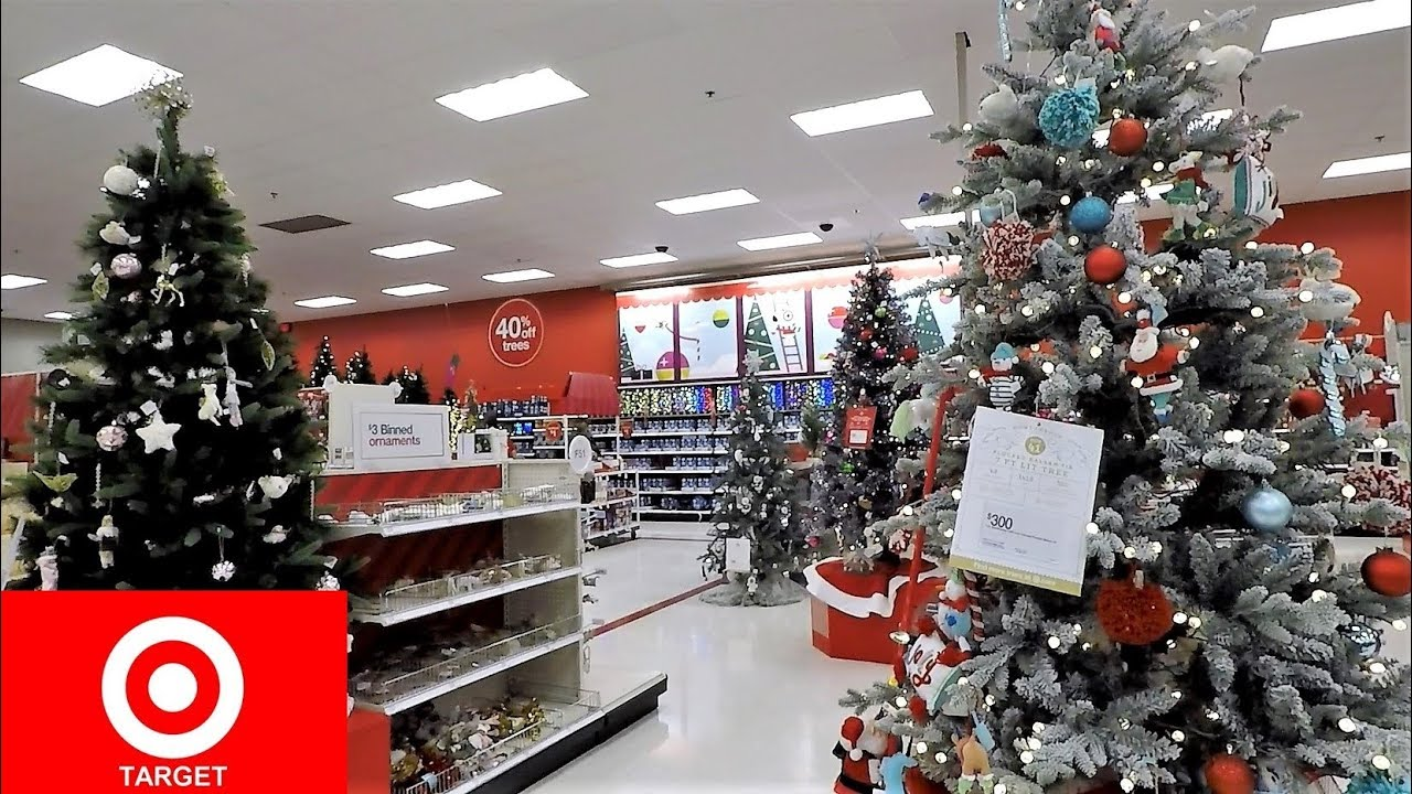 christmas 2018 at target christmas trees decorations ornaments home decor shopping
