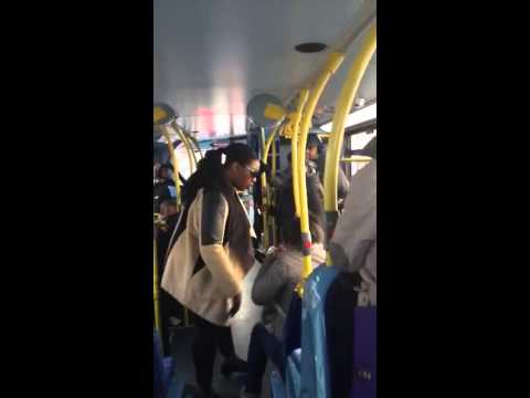 OMFG CRAZY WOMEN GONE WILD, ON PUBLIC TRANSPORT!