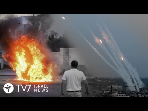 700 rockets fired from Gaza toward Israel - TV7 Israel News