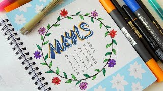 Gambar cover BULLET JOURNAL MAYIS! - Plan With Me May 2018 - (Kendin Yap Ajanda)