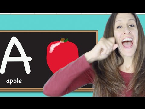 Phonics, alphabet and sign language children's song by Patty Shukla