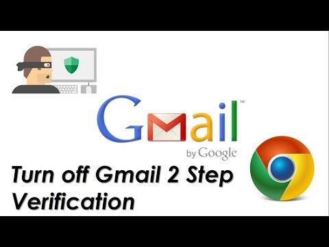 How to Disable 2 Step Verification in Gmail - YouTube