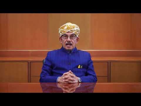 ผู้นำศาสนาอิสลาม กล่าวคำอวยพรปีใหม่ 2563