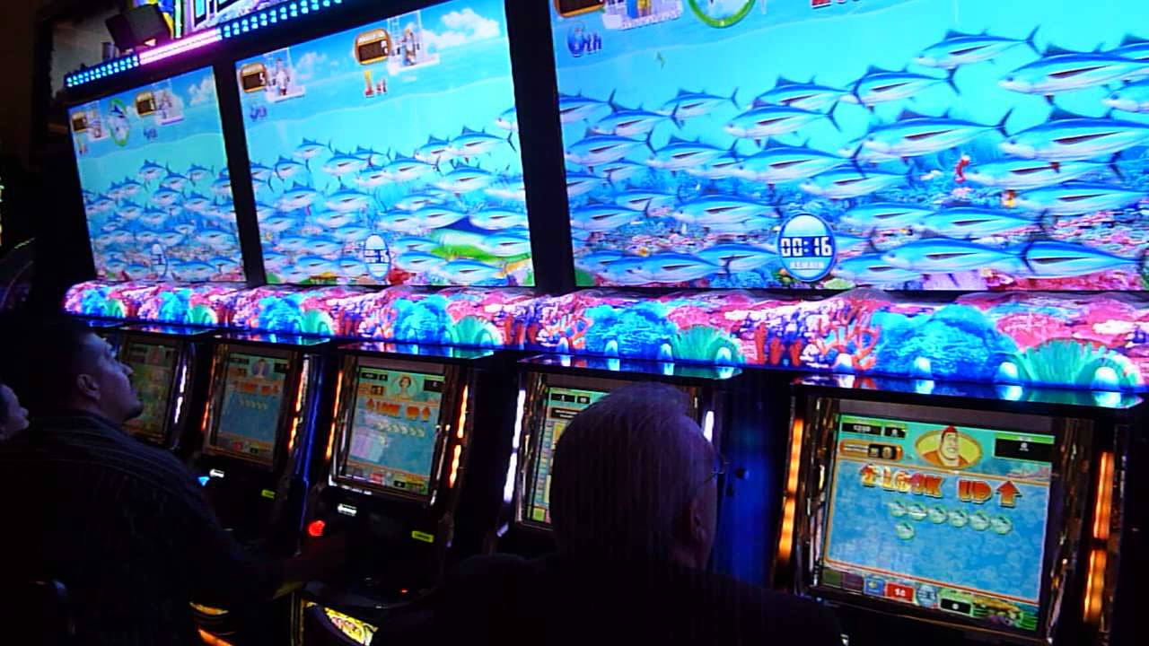 Fishing Slot Machine Games