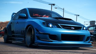 Subaru Impreza WRX STI Race Spec - Customization & Race