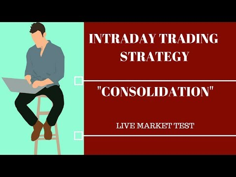 simple intraday trading strategy :- consolidation break out