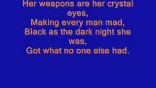 shocking blue venus lyrics on screen 100%correct have fun!!!!!!