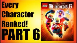 LEGO Incredibles - Every Character Ranked PART 6