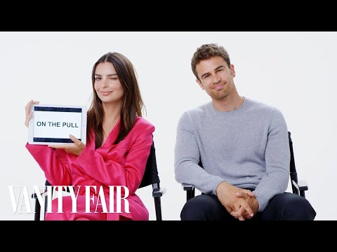 Emily Ratajkowski and Theo James Teach You British Slang | V