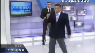 Apresentador abandona programa  ao vivo no Paraná