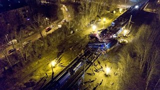 8 апреля в 22:16 между станциями Кунцево и Фили на Белорусском направлении московской железной дороги столкнулись два поезда, с рельсов сошли четыре вагона.  За медицинской помощью обратились 50 челов