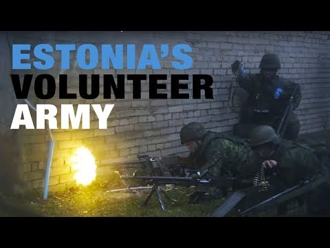 Baltic Defence: Estonia's volunteer army