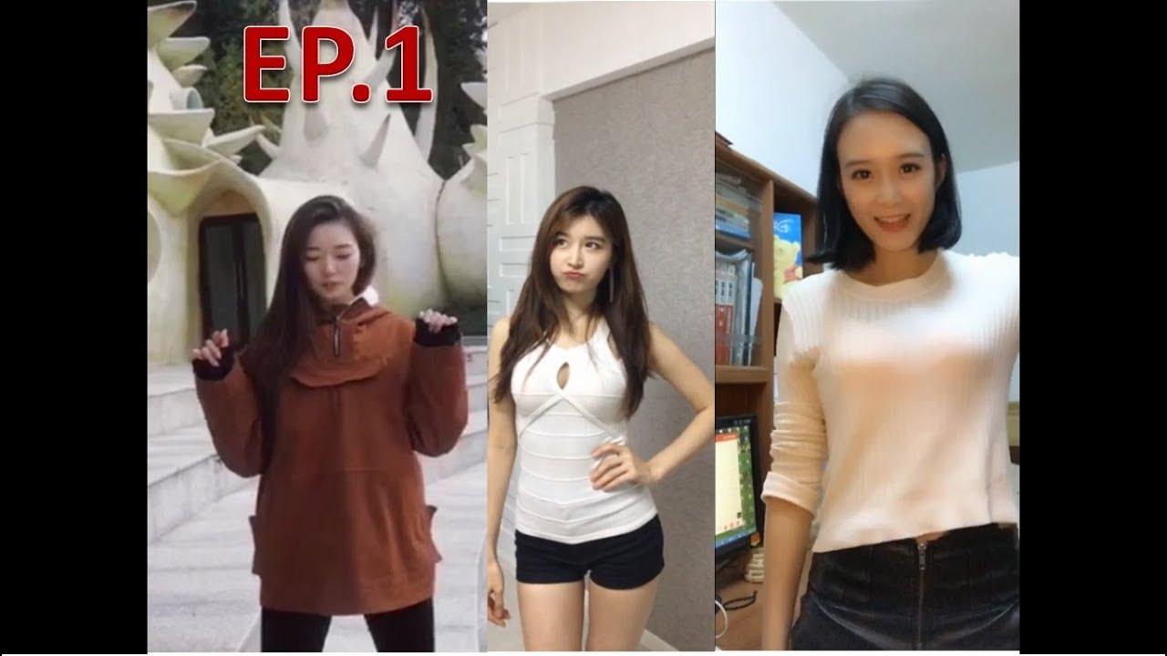 Asian girls undressing