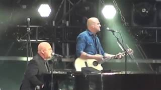 Billy Joel Old Traffford Manchester The Entertainer, Vienna and Your Song