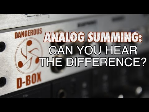 Analog Summing: Is It Worth It?