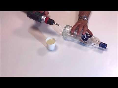 - 0 - Comment percer une bouteille en verre ?