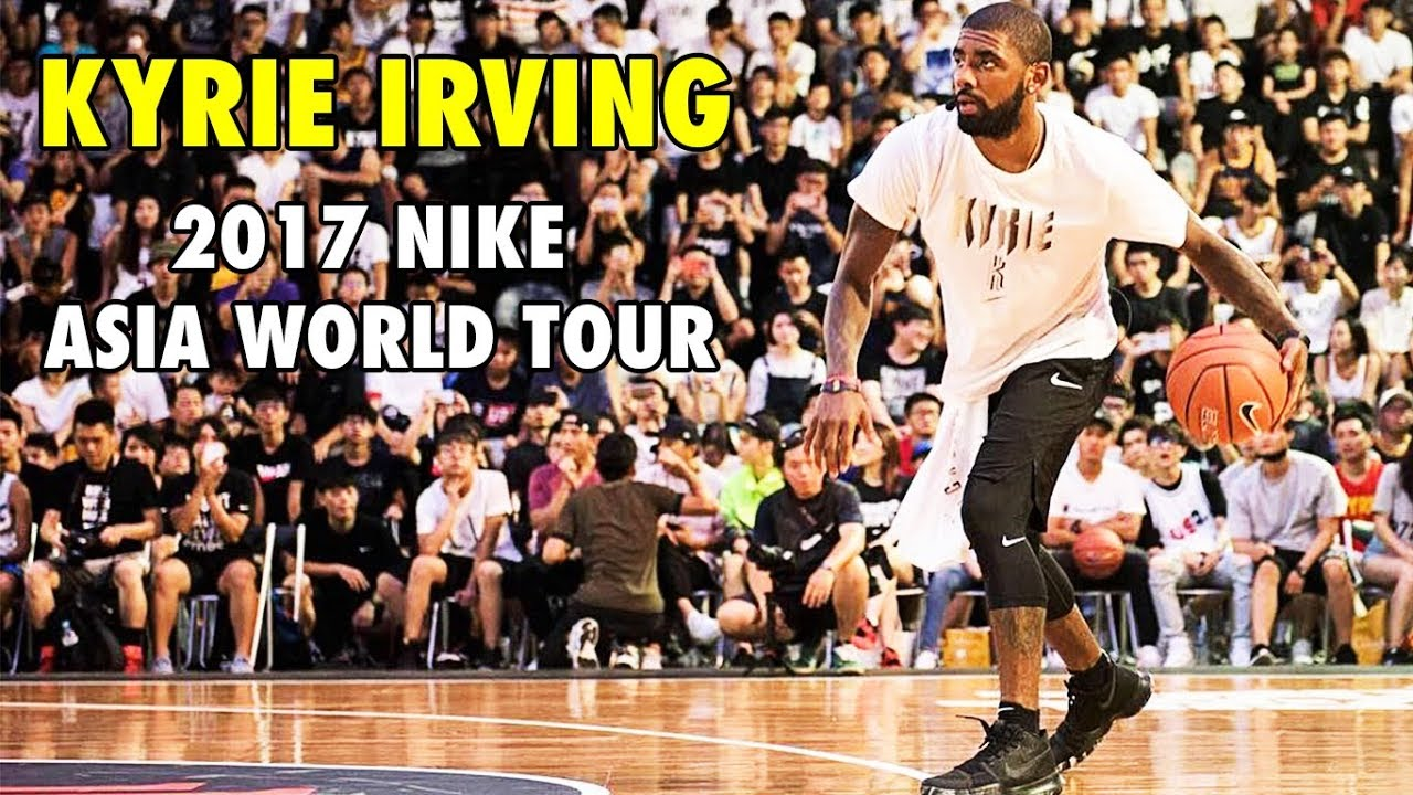 fc26e9ce2b56 Kyrie Irving s CROSSOVER SHOW in Taiwan (2017 Nike Basketball Asia World  Tour)