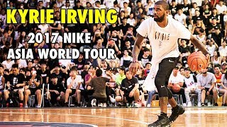 Kyrie Irving's CROSSOVER SHOW in Taiwan (2017 Nike Basketball Asia World Tour)