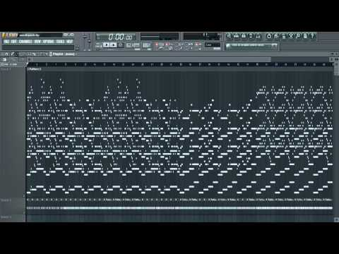 Scary Monsters And Nice Sprites - Skrillex (Remade On Fl Studio) [1 Hour]