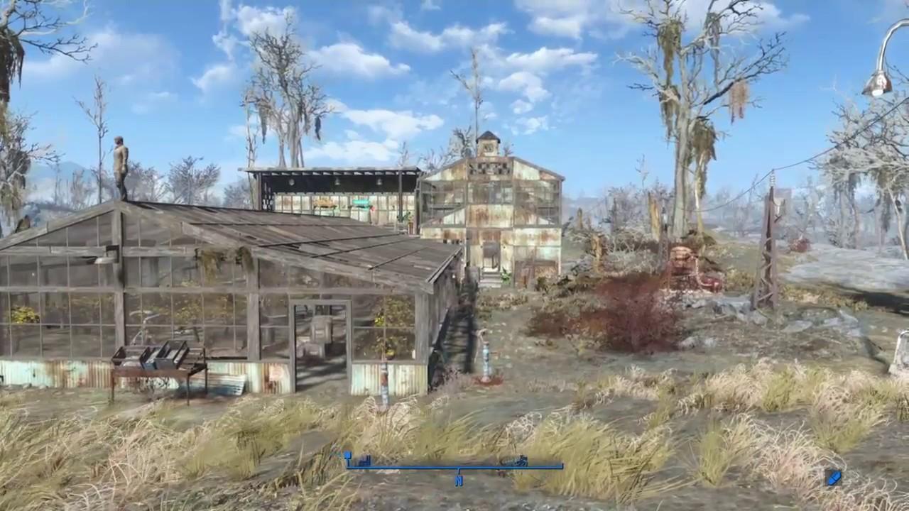 Fallout 4 Settlement Build Greentop Nursery Before After Rebuild Series