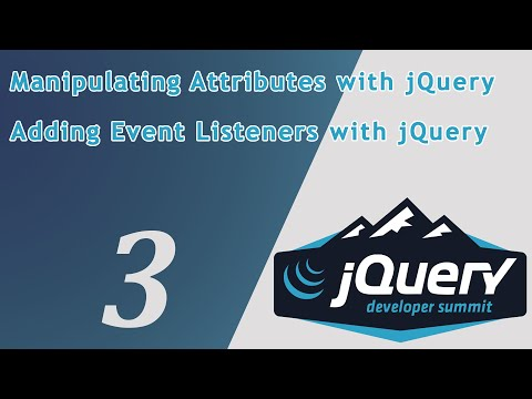 Learn JQuery Adding Event Listeners with jQuery - Adding and Removing Elements with jQuery thumbnail