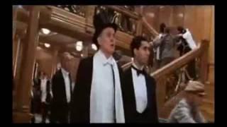 Blue Danube a Titanic sinking scene
