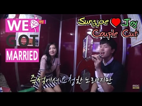 [We got Married4] 우리 결혼했어요 - SungJae, sing passionately Joy's song request 20150711