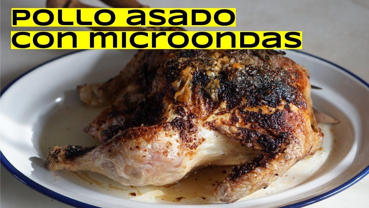 Cómo Hacer Pollo Asado Receta Con Microondas
