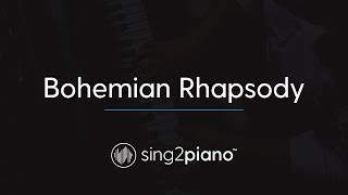 Bohemian Rhapsody (Piano Karaoke Instrumental) QUEEN